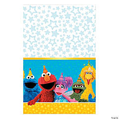Plastic Sesame Street® Tablecloth
