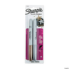 Plastic Sharpie® Metallic Fine Point Permanent Markers