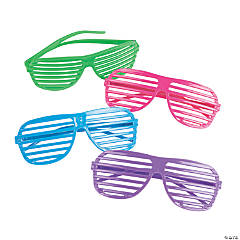 Plastic Shutter Shading Glasses