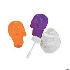 Plastic Skull Bubble Bottles