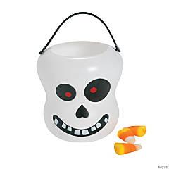 Plastic Skull Buckets