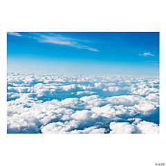 Plastic Sky Backdrop Banner