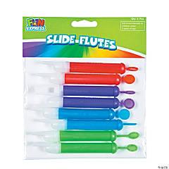 Plastic Slide Flutes