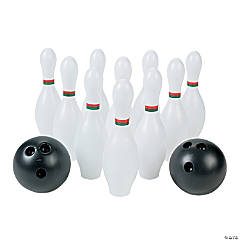 Plastic Small Bowling Set