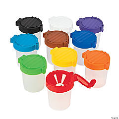 Plastic Small Paint Cups