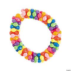 Plastic Small Triangle Bead Bracelet Craft Kit