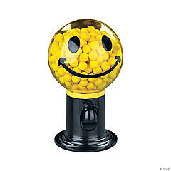 Plastic Smile Face Gumball Machine