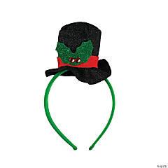 Plastic Snowman Hat Head Bopper