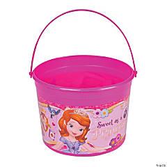 Plastic Sofia the First Bucket