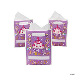 Plastic Sofia the First Goody Bags