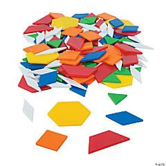 Plastic Solid Pattern Blocks