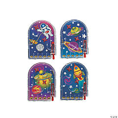 Plastic Space Pinball Games