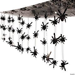 Plastic Spider Ceiling Decoration