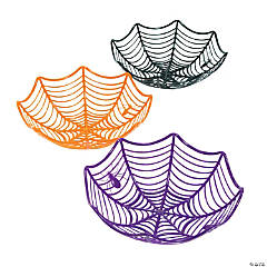 Plastic Spider Web Baskets