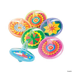 Plastic Spin Tops