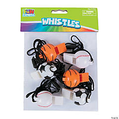 Plastic Sport Ball Whistles