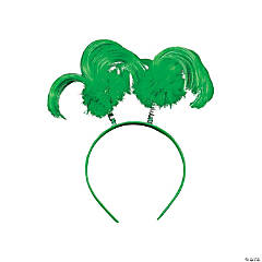 Plastic St. Pat's Ponytail Head Boppers