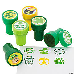 Plastic St. Patrick's Day Stampers