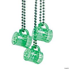 Plastic St. Patrick's Day Traveling Shot Glasses