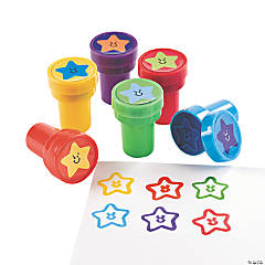 Plastic Star Stampers