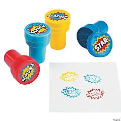 Plastic Superhero Stampers