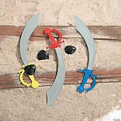 Plastic Swords with Eyepatch