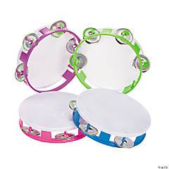 Plastic Tambourines