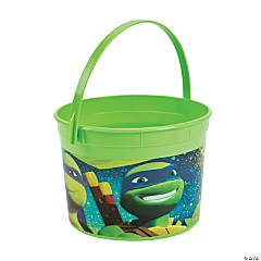 Plastic Teenage Mutant Ninja Turtles Favor Container