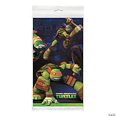Plastic Teenage Mutant Ninja Turtles Table Cover