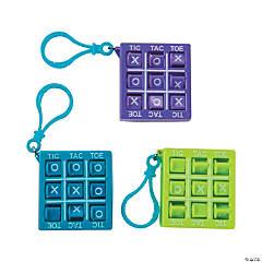 Plastic Tic-Tac-Toe Games with Clip