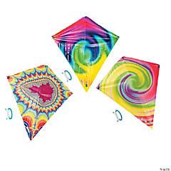 Plastic Tie-Dyed Kites