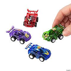 Plastic Translucent Pullback Race Cars