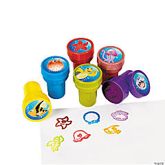 Plastic Tropical Sea Life Stampers