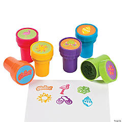 Plastic Tropical Stampers