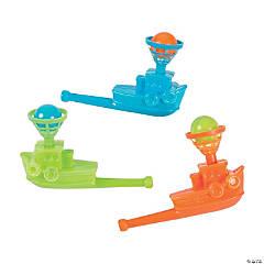 Plastic Tugboat Float-A-Ball Games