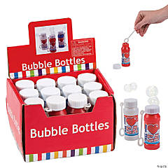 Plastic USA Bubble Bottles