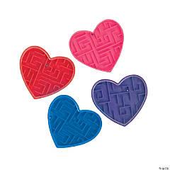 Plastic Valentine Maze Puzzles