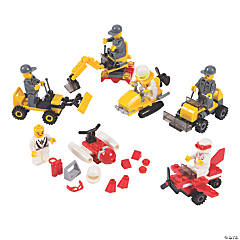 Plastic Vehicle Building Block Kits