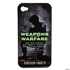 "Plastic ""Weapons of Our Warfare"" iPhone Case"