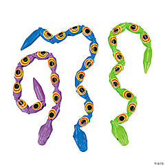 Plastic Wiggle Snakes