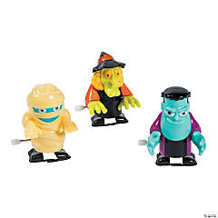 Plastic Wind-Up Halloween Toys PDQ