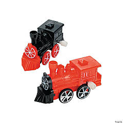 Plastic Wind-Up Trains