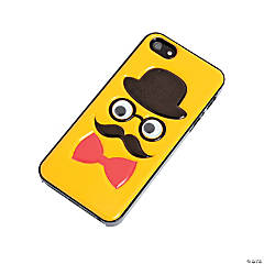 Plastic Yellow Mustache Chap iPhone® 5 Case
