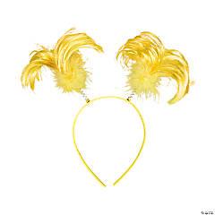 Plastic Yellow Team Spirit Head Boppers