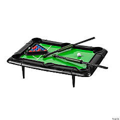 Play On™ Mini Pool Table Games