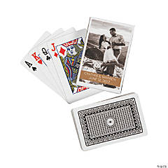 Playing Cards with Custom Photo Box