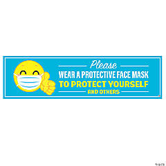 Please Wear a Face Mask Banner – Large