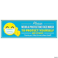 Please Wear a Face Mask Custom Banner - Large