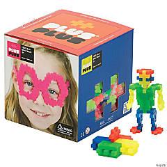 Plus-Plus® Open Play Set, Neon, 1,200 pieces