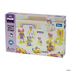 Plus-Plus® Open Play Set, Pastel, 300 pieces